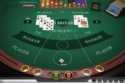 Variantions in Baccarat